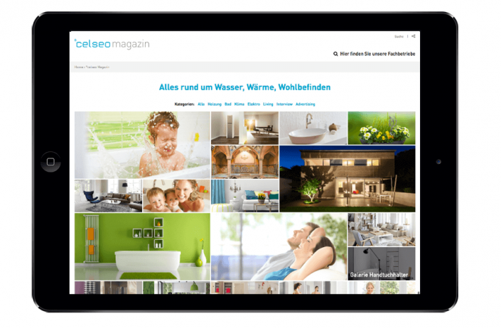 Celseo Magazin DigitalBest Practice, Produkt-Tests, Trendinfos und Bildergalerien für das Webmagazin von °celseo