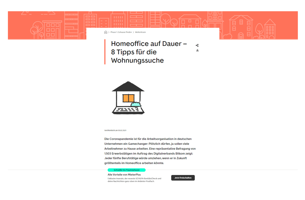 Immoscout Referenz Homeoffice