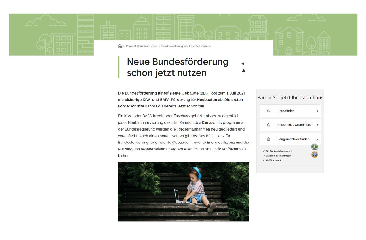 Immoscout Referenz Neubaunews